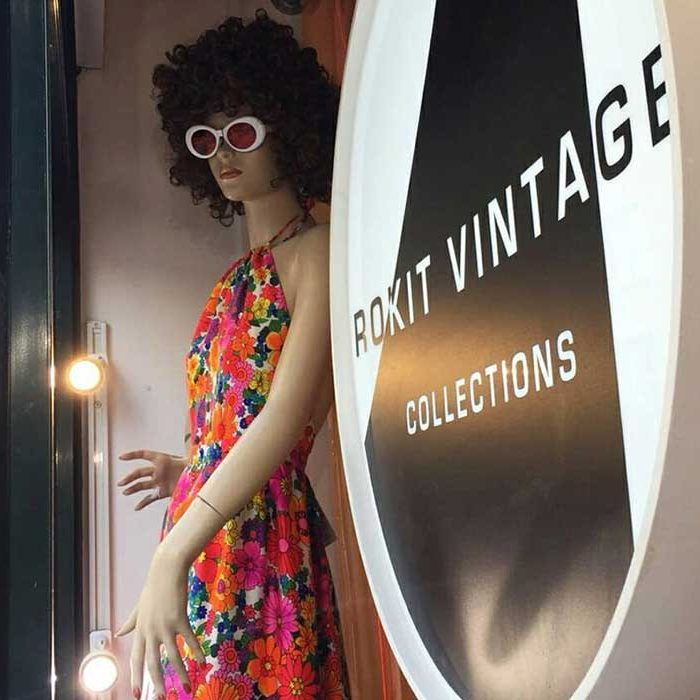 Rokit Vintage Clothing Retro Clothing Online London |Top places to buy vintage fashion in London