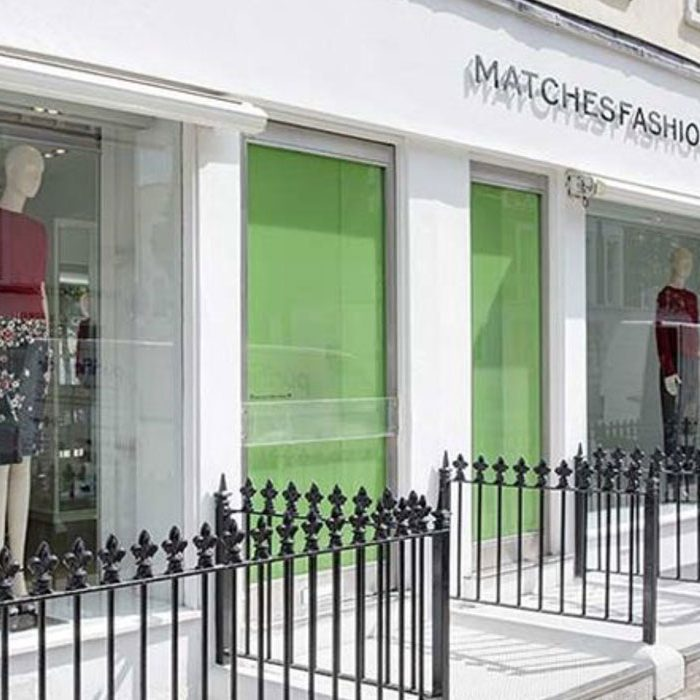 London sustainable fashion shop Matches Fashion