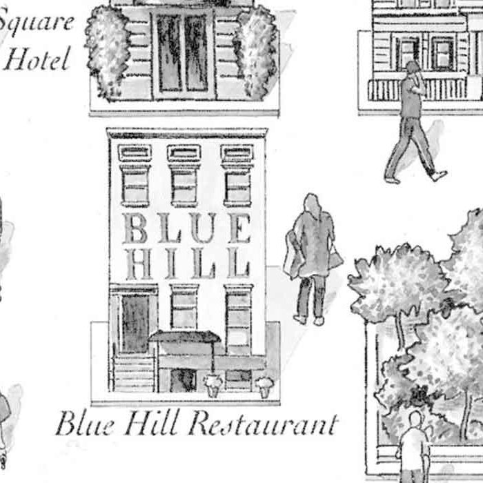 Blue Hill ethical sustainable restaurant New York