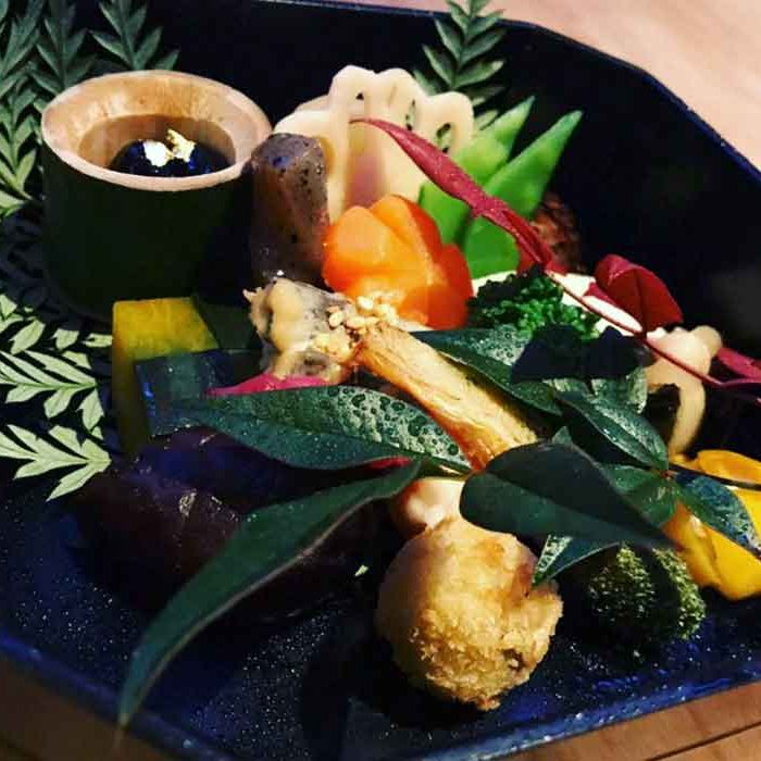 Going out in New York sustainable restaurants vegan Japanese Kajitsu