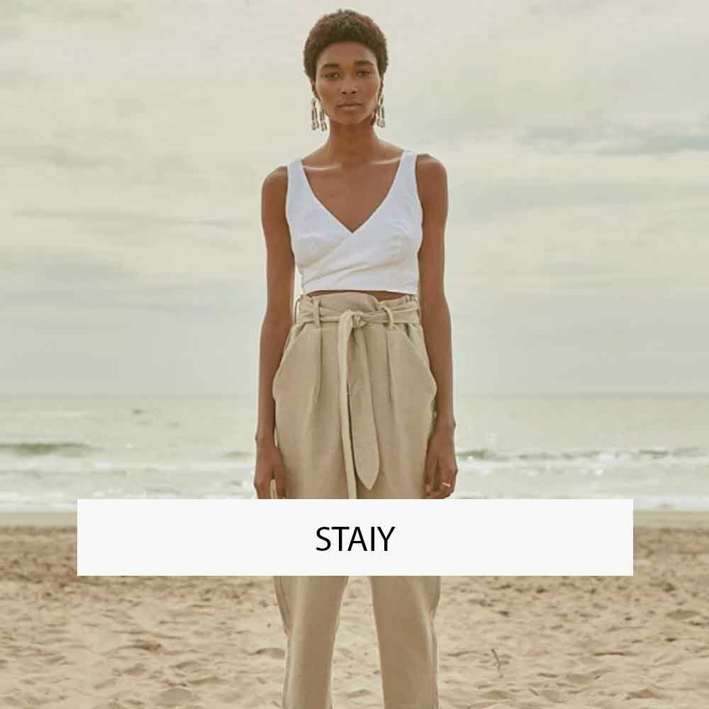 STAIY OFFICIAL SUSTAINABLE FASHION ONLINE SHOP ECOLOOKBOOK GERMANY