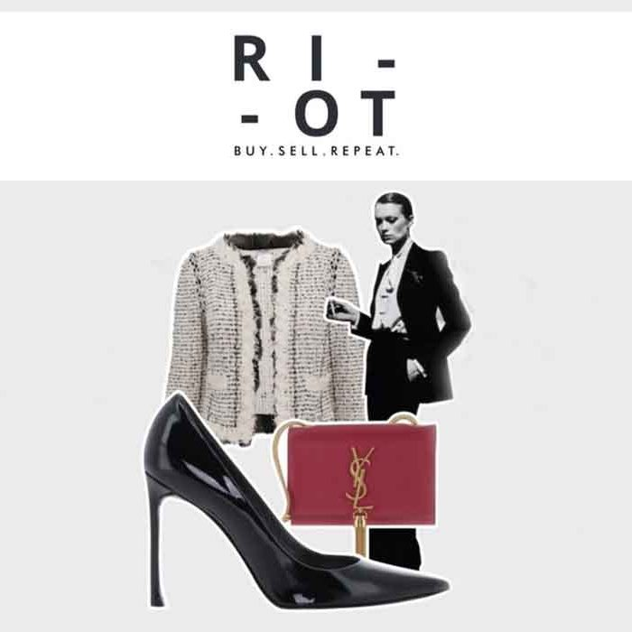 RIOT HERE Middle East Dubai preloved luxury fashion good fashion guide ECOLOOKBOOK