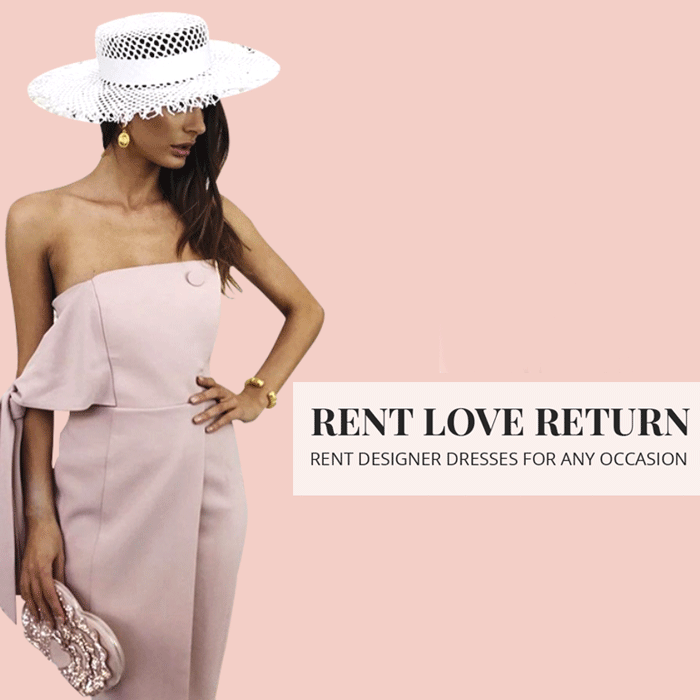 Where to rent sustainable fashion rent love return designer clothes The Mode